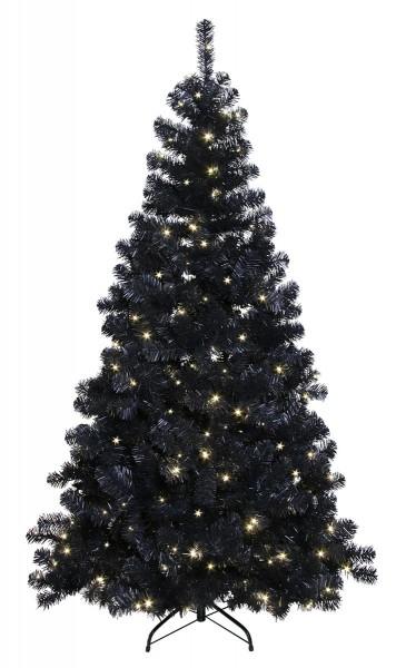"LED-Weihnachtsbaum ""Ottawa"" - 260 daylight LEDs - Prelit-Tree - schwarz - H: 210cm - outdoor"