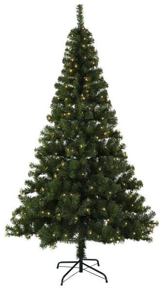 """LED-Weihnachtsbaum """"Ottawa"""" - 260 warmweiße LEDs - H: 210cm, D: 120cm - Kunststoff-Fuß - outdoor"""