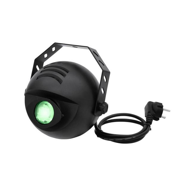 LED H2O Wassereffekt Projektor mit DMX - Simulation von bewegtem Wasser - 9W TRI LED