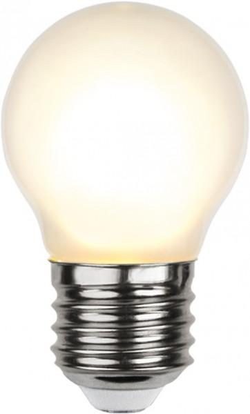LED Tropfenlampe FILA G45 - E27 - 4W - WW 2700K - 350lm - gefrostet - dimmbar
