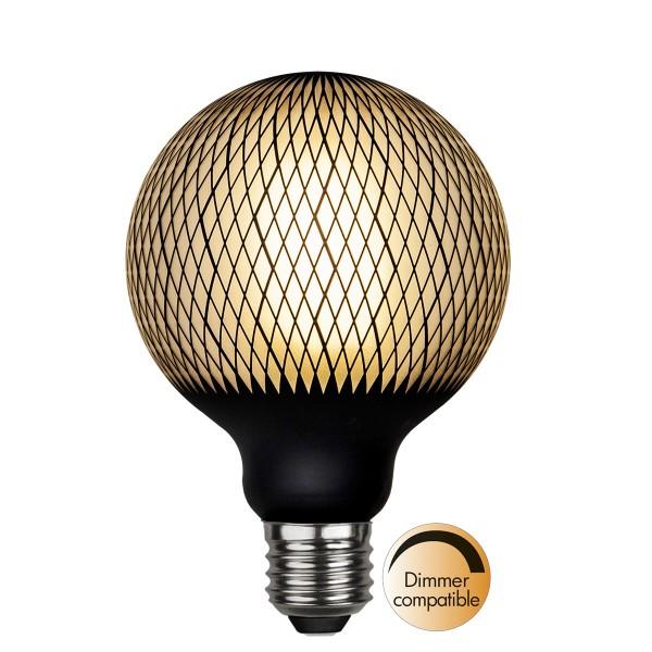 LED Leuchtmittel GRAPHIC G95 - E27 - 4W - WW 2700K - 180lm