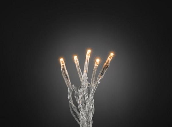 LED Microlichterkette - LED Pure - 6,93m - 100x Ultra Warmweiß - Transparentes Kabel - Indoor
